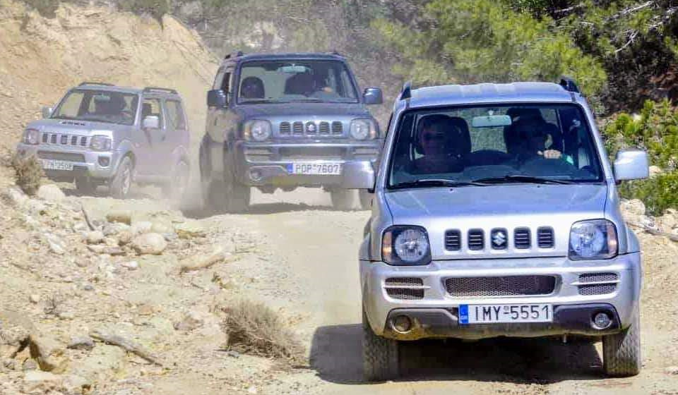 jeep safari rhodes - 4x4 tour - rhodes adventures - activities