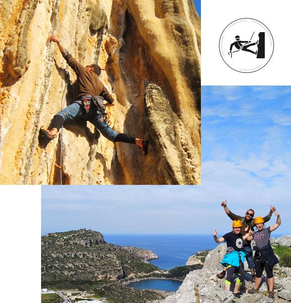 doubles-climbing