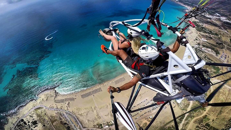 trike - paragliding - fly - rhodes adventures
