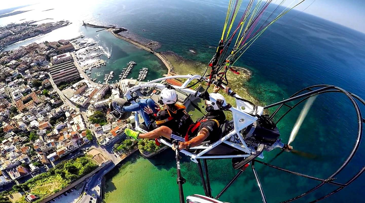 rhodes adventures - fly with us - paragliding - trike