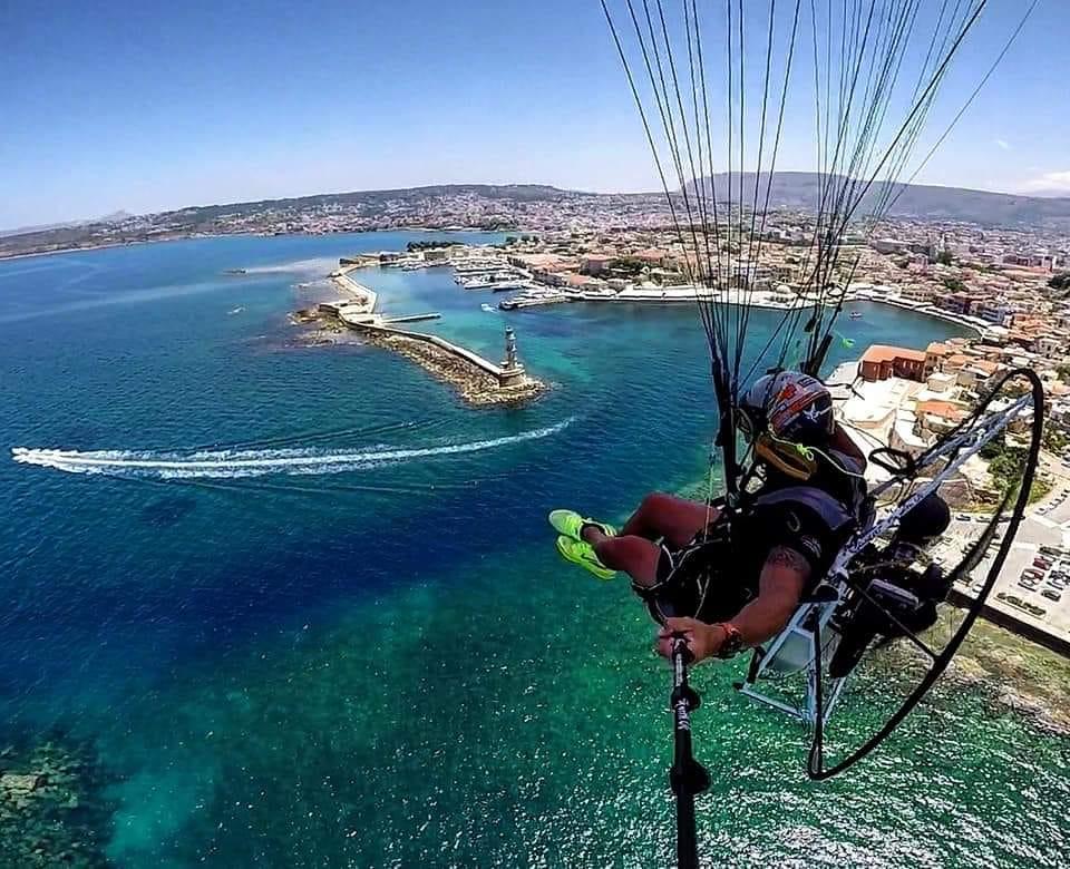 rhodes adventures - fly rhodes - paragliding - trike - paratrike - activities